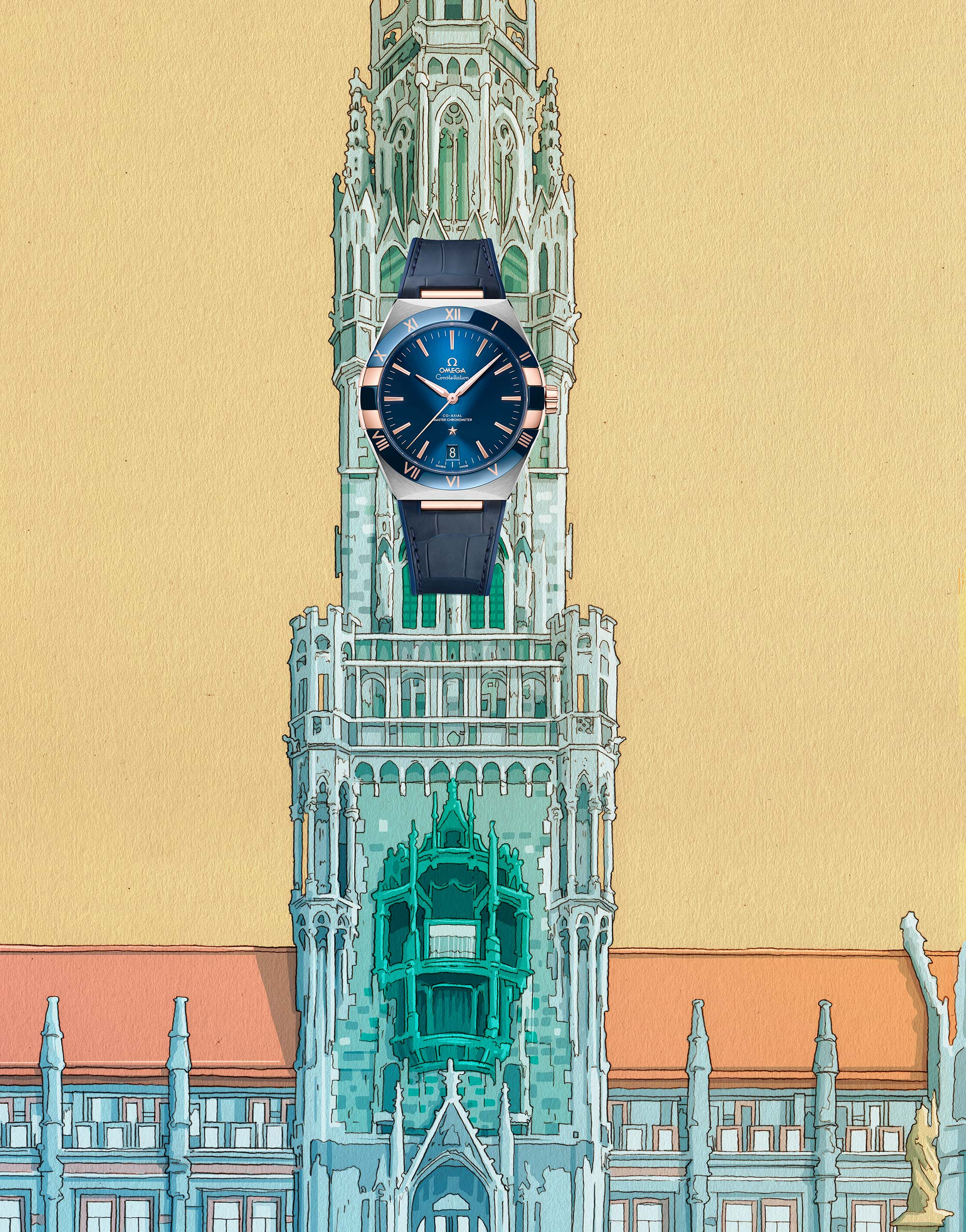 El Libro Amarillo reloj OMEGA Constellation Co-Axial MasterChronometer 41mm