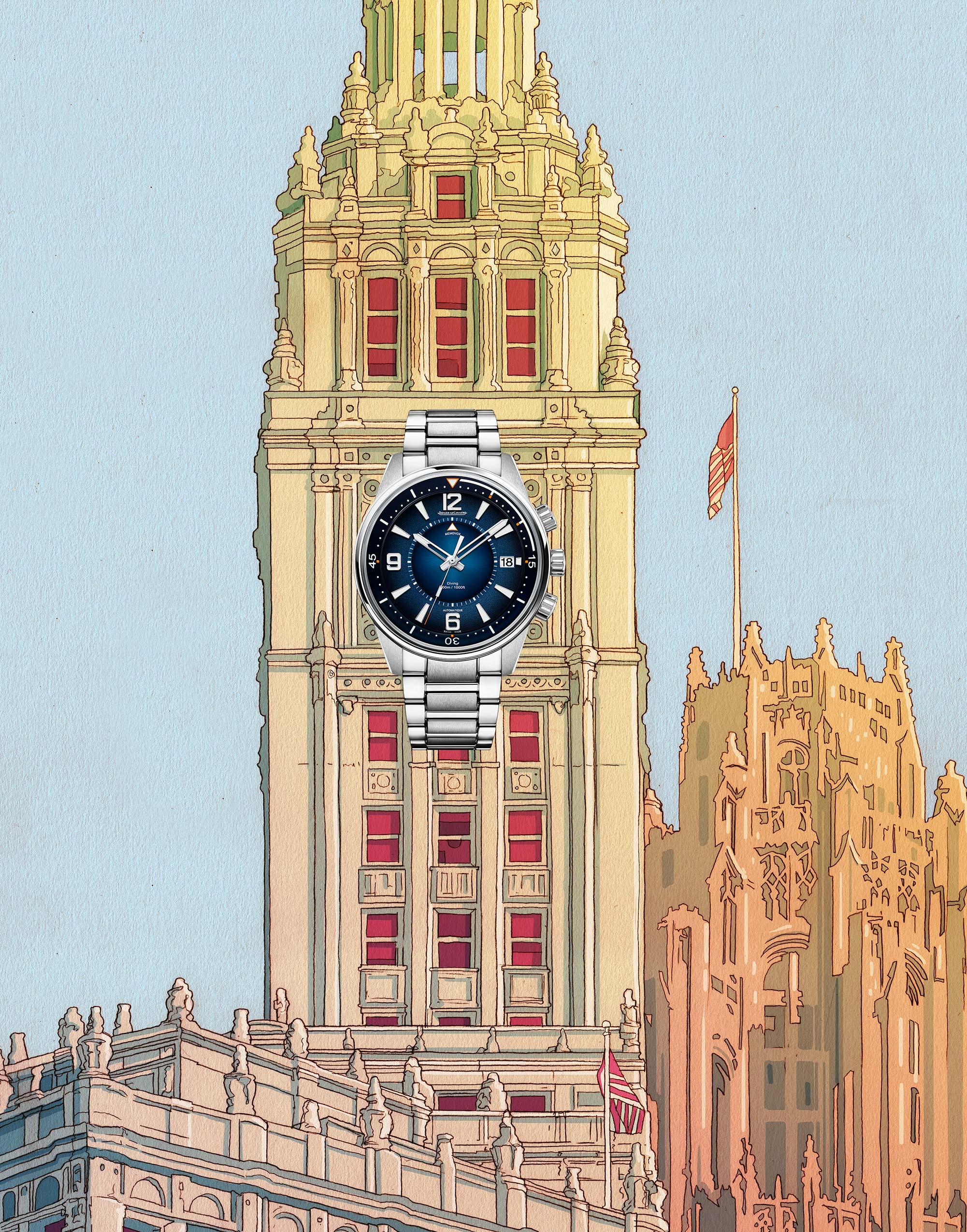 El Libro Amarillo reloj JAEGER - LECOULTRE Polaris Mariner Memovox 42mm