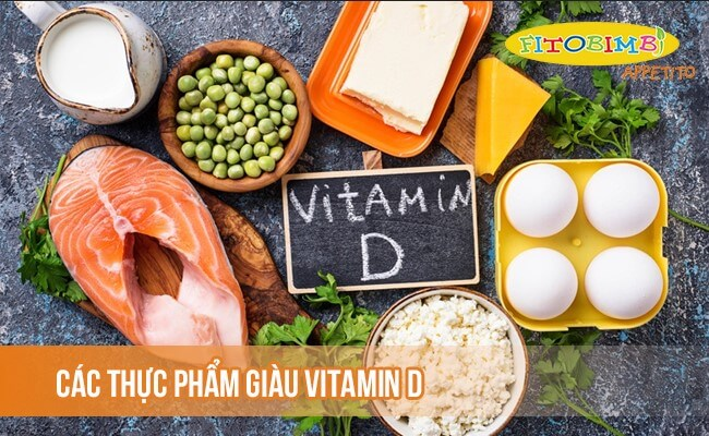 Một số thực phẩm giàu vitamin D