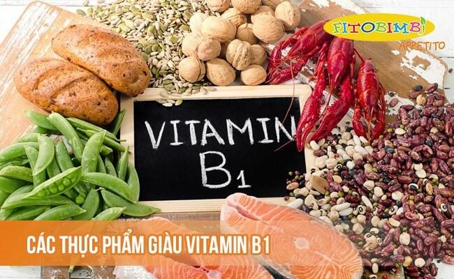Các thực phẩm giàu vitamin B1