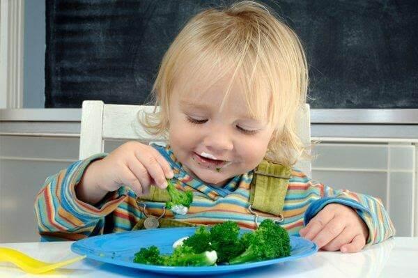 Kiên trì cho bé ăn rau mỗi ngày