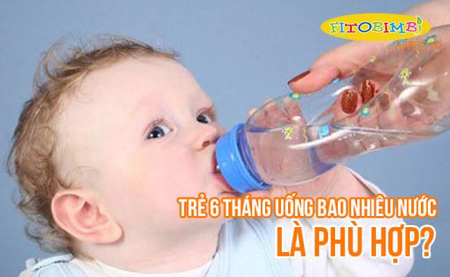 Trẻ 6 Tháng Có Uống Được Nước Không? Bao Nhiêu Là Đủ?