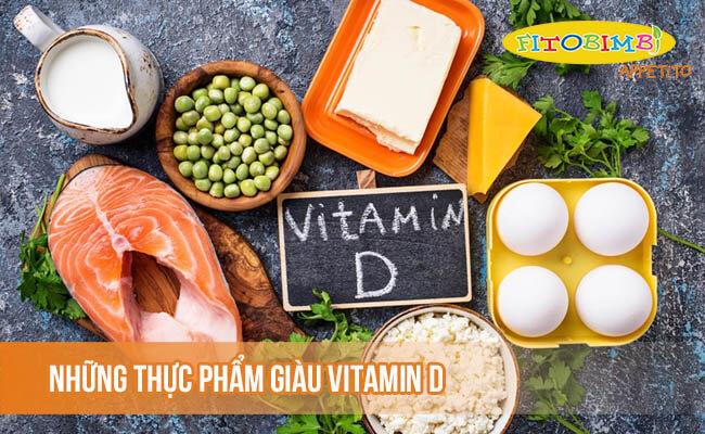 Những thực phẩm giàu vitamin D