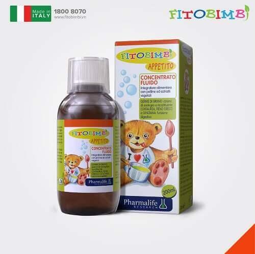 Siro ăn ngon Fitobimbi Appetito nhập khẩu từ Italy