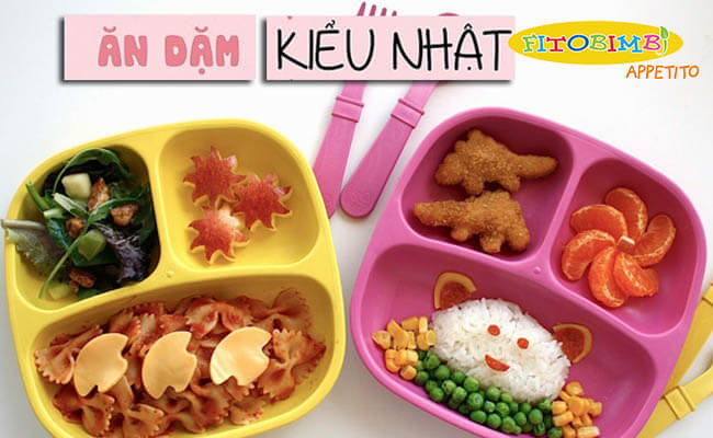 Thực đơn ăn dặm kiểu Nhật cho trẻ 10-12 tháng biếng ăn