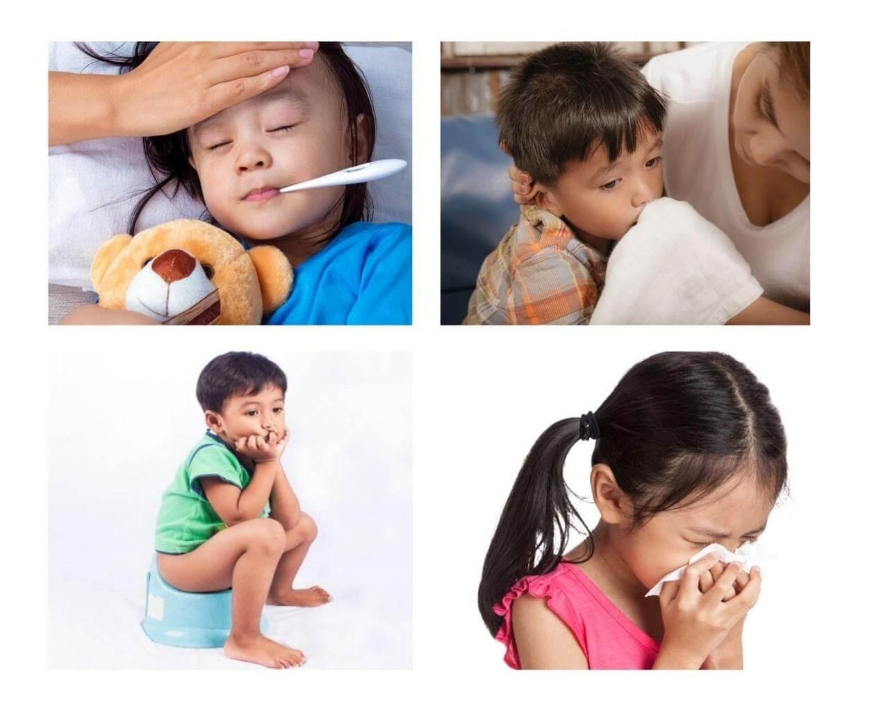 Trẻ biếng ăn thường xuyên bị ốm do suy giảm sức đề kháng