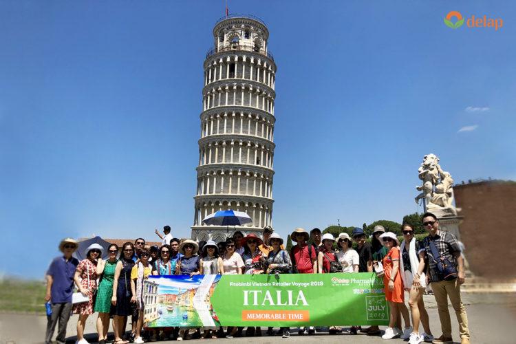 Trải nghiệm Italia cùng Dược phẩm Delap