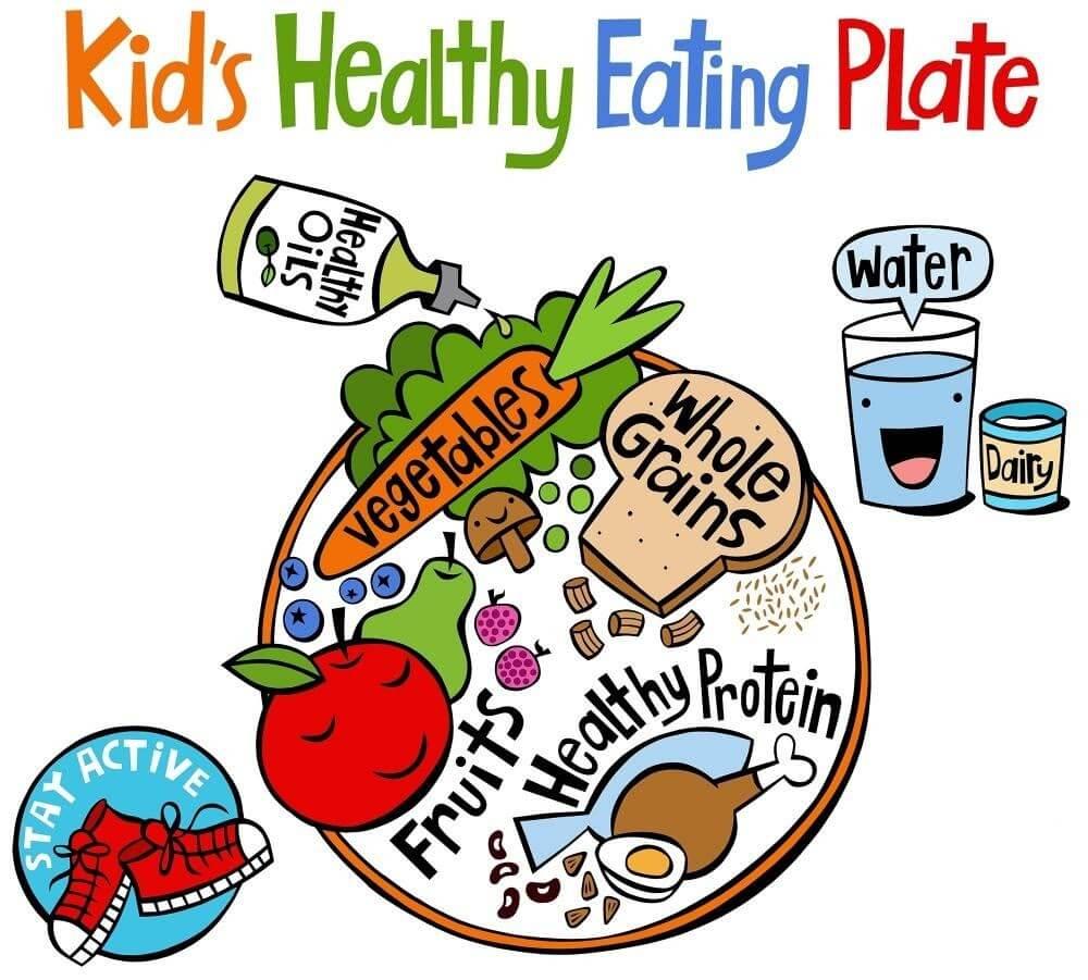 Chế độ dinh dưỡng hợp lý giúp trẻ phát triển khỏe mạnh và thông minh