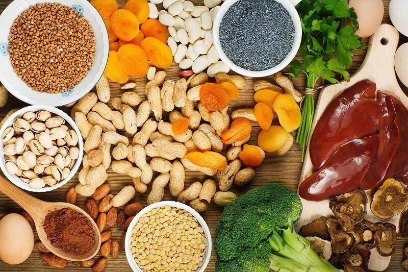 Những thực phẩm giàu sắt cho bé 17 – 20 tháng tuổi
