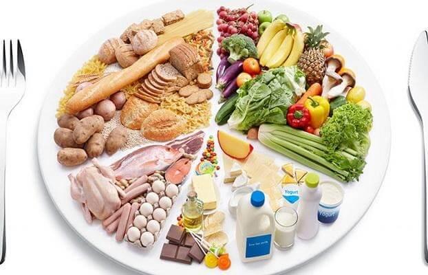 Chăm sóc trẻ biếng ăn, suy dinh dưỡng, cần đảm bảo bữa ăn có đủ 4 nhóm chất