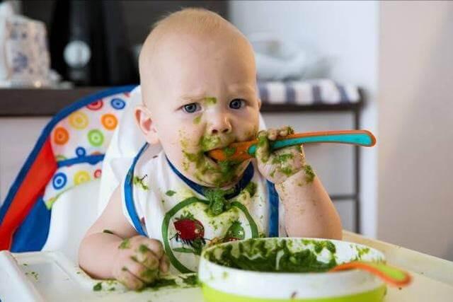 Nên cho trẻ tự động chạm, nếm mút và khám phá thức ăn