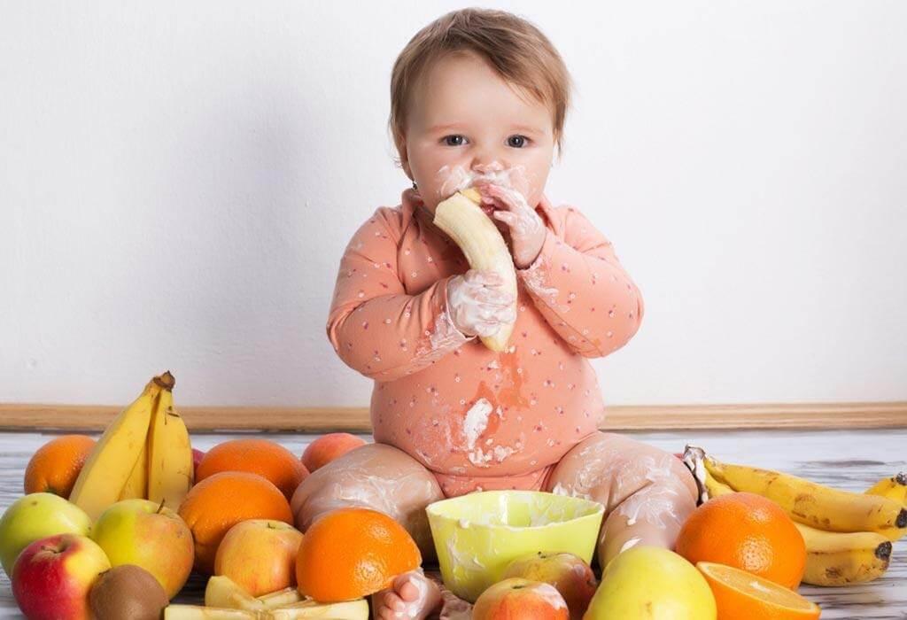 Trái cây bổ sung vitamin và khoáng chất cho bé 13 - 16 tháng tuổi biếng ăn