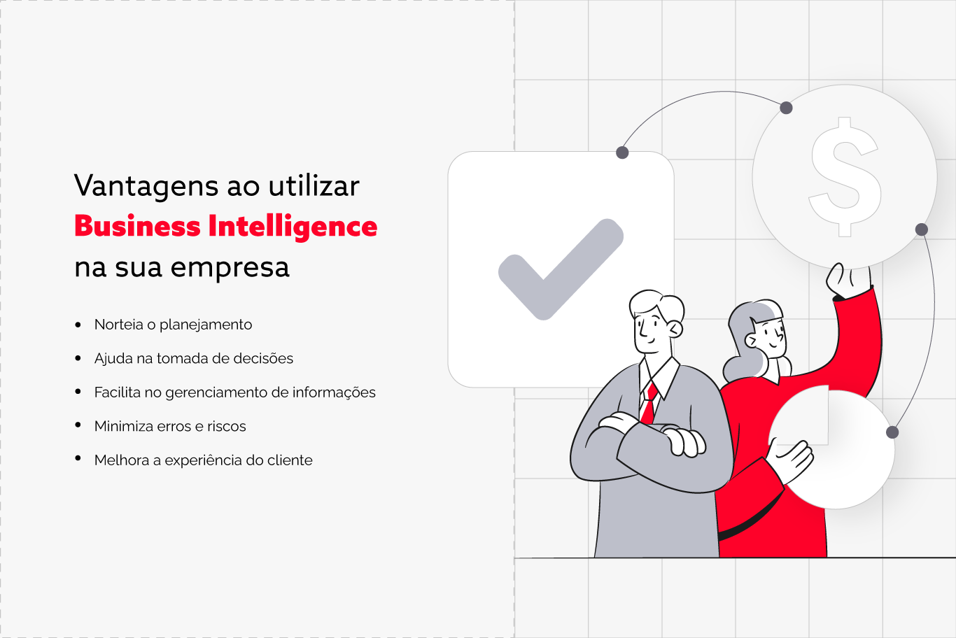 Diagrama Vantagens Business Intelligence