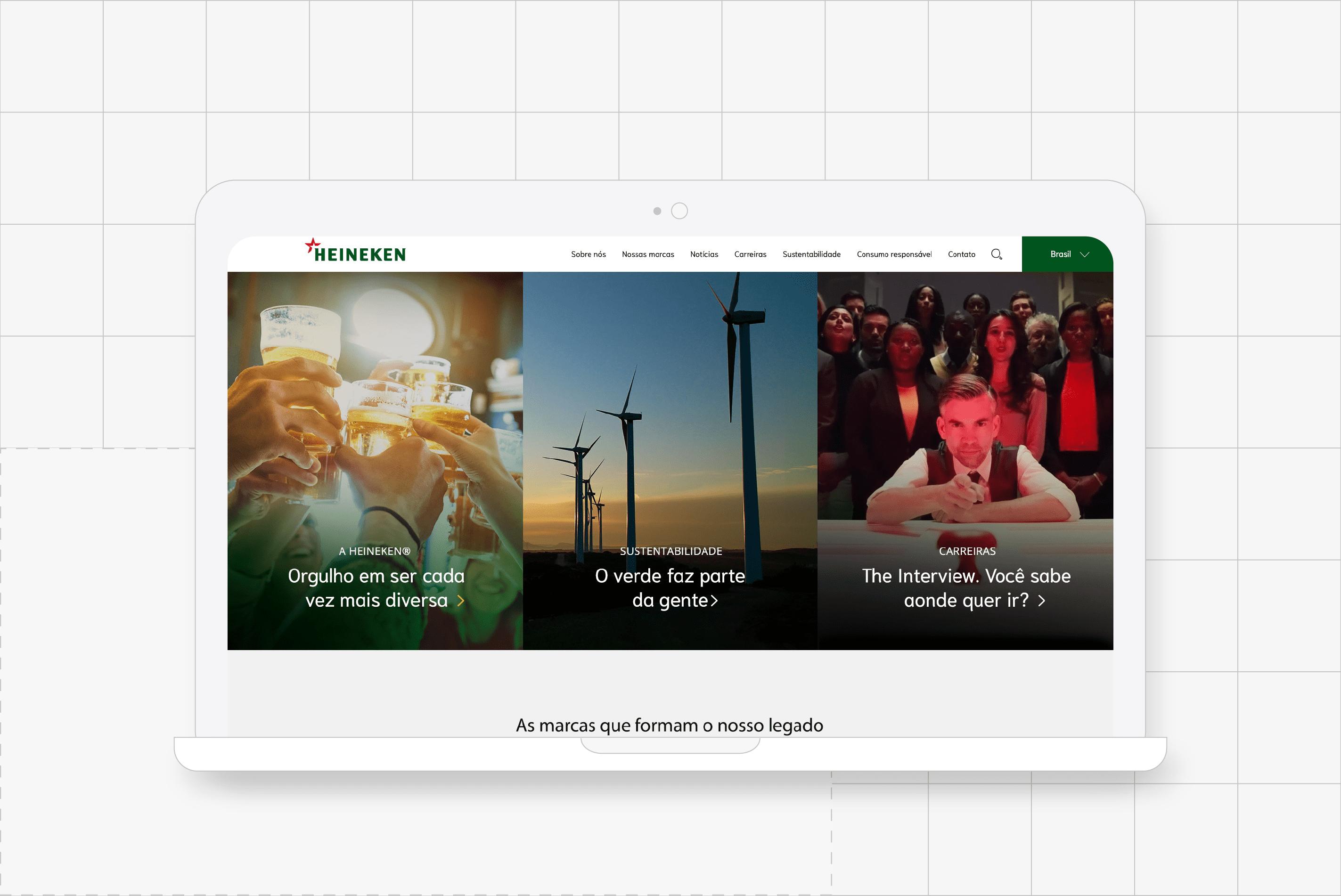 Mockup Heineken