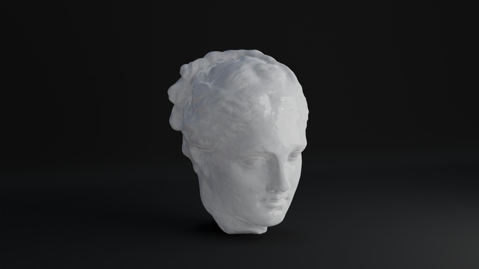 3D Greek Sculpture