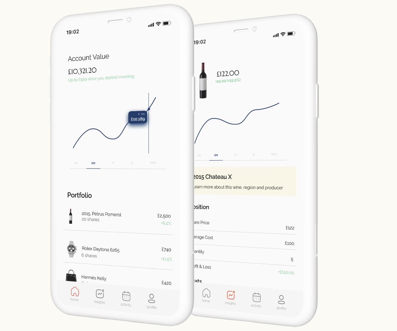 alternative asset iphone app
