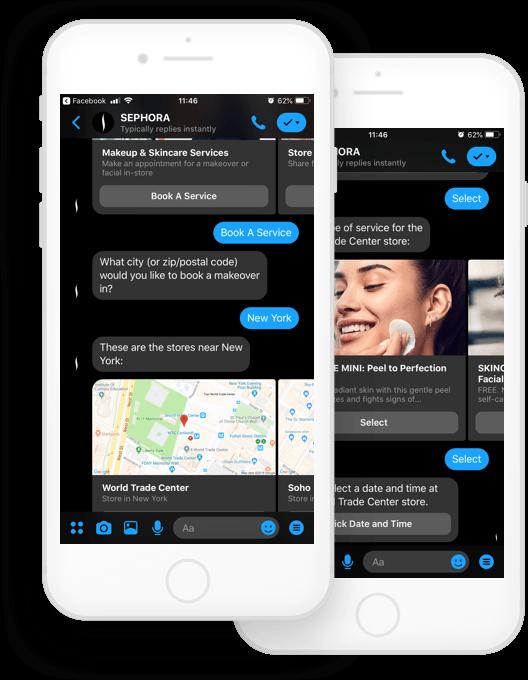 Sephora shopping chatbot