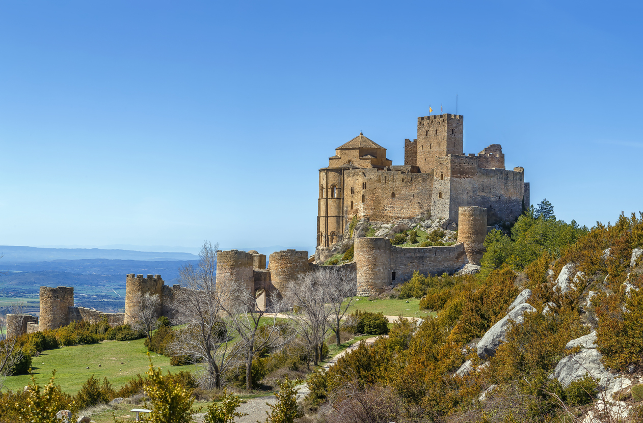 castillos en Aragón