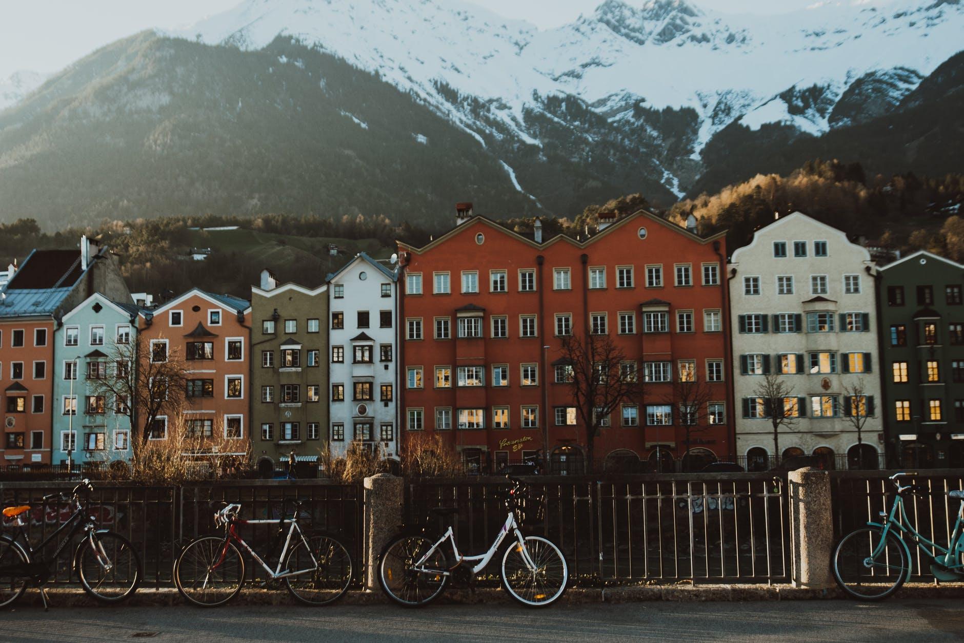 ruta cultural en bicicleta por austria