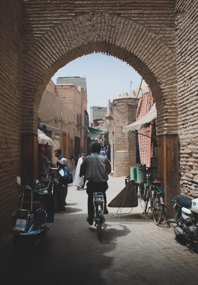 ruta cultural en bicicleta por marruecos