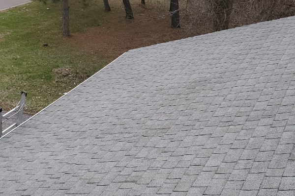 After House Roof Cleaning
