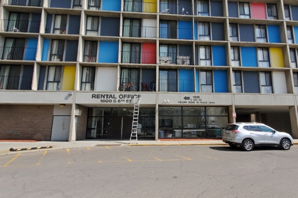 apartment building Exterior Painting service