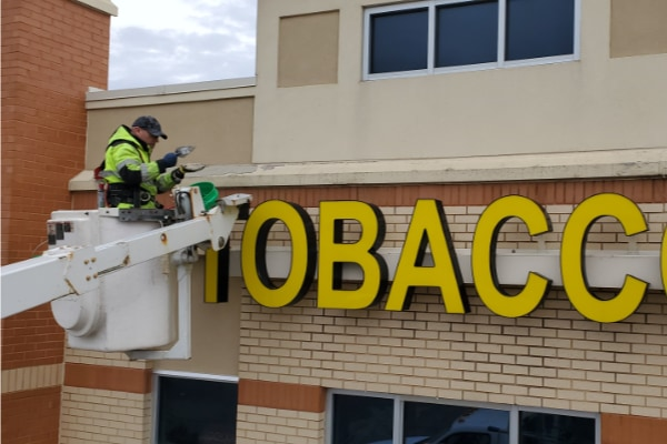 commercial exterior wall repair