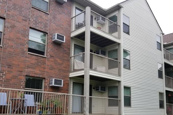 apartment exterior painting