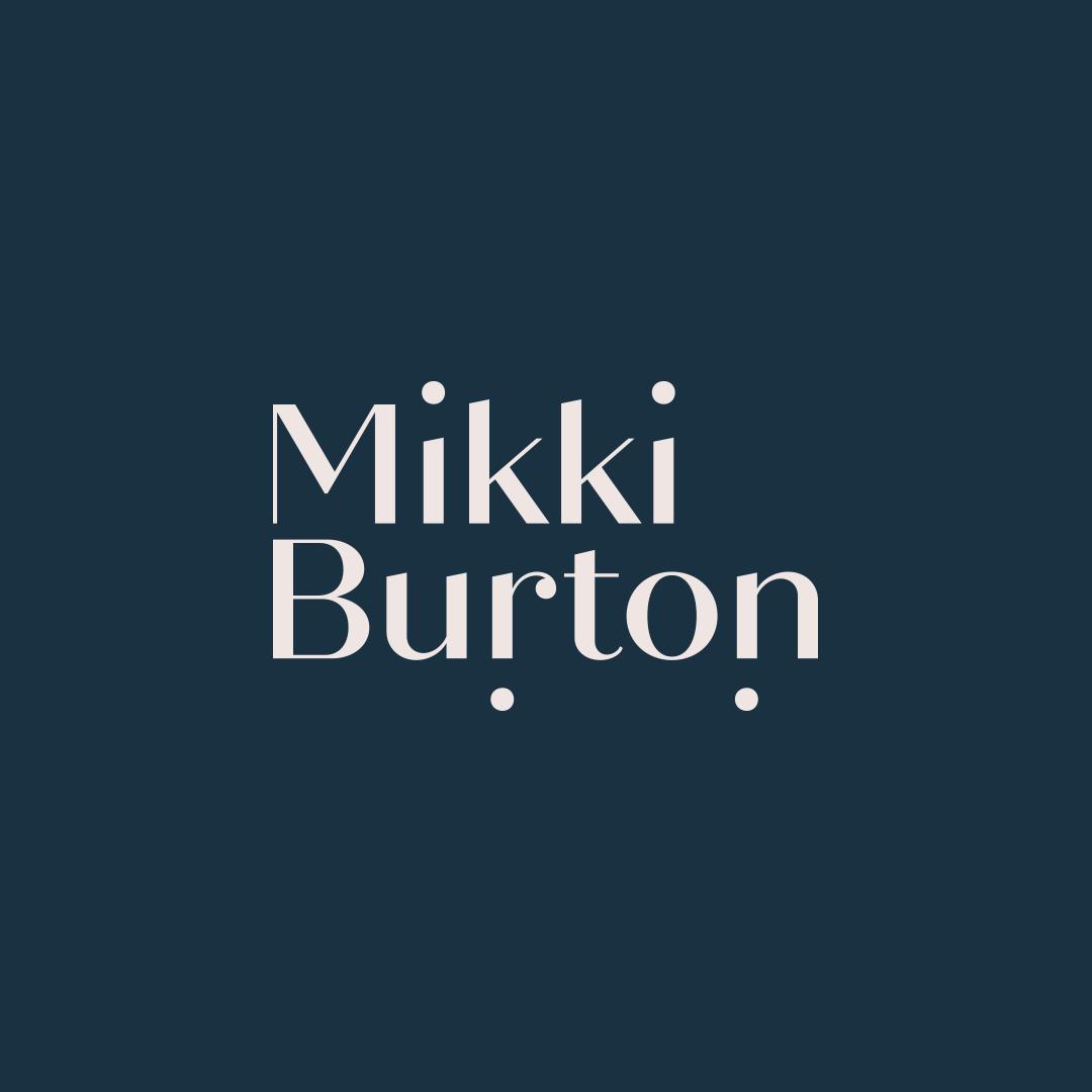 Mikki Burton logo design