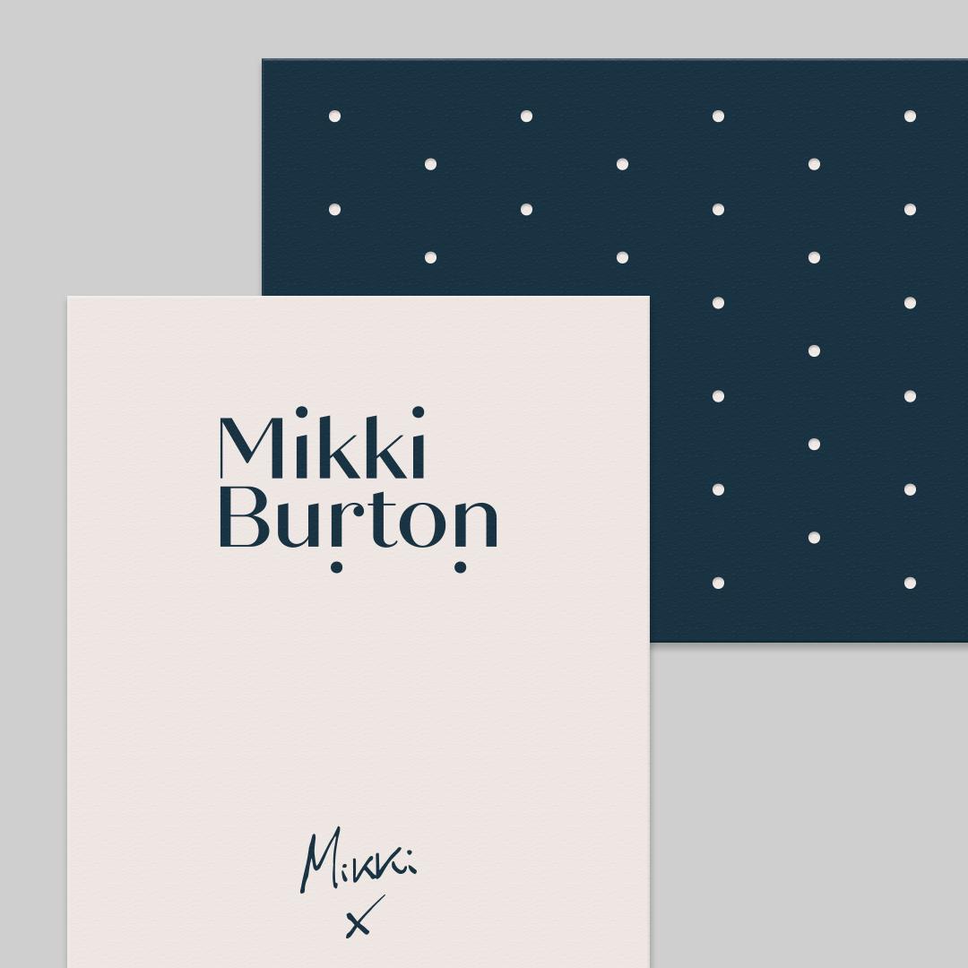 Mikki Burton business cards