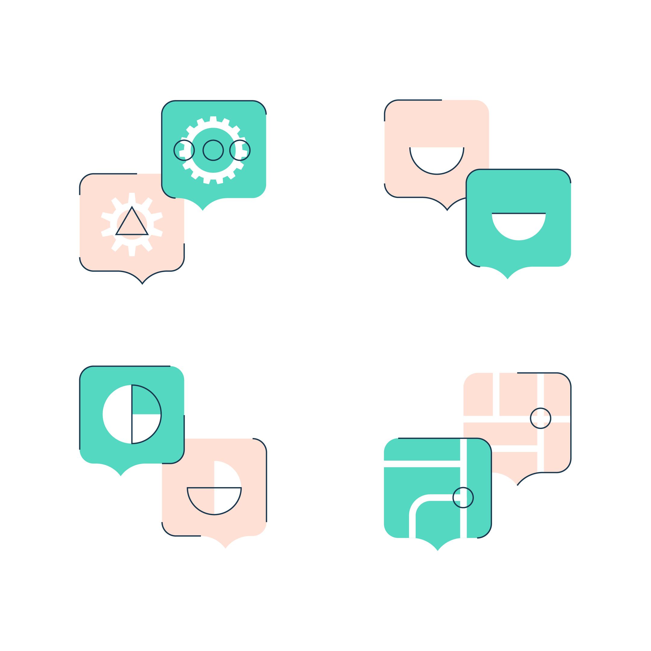 Korero icon design by Ben Clark Design