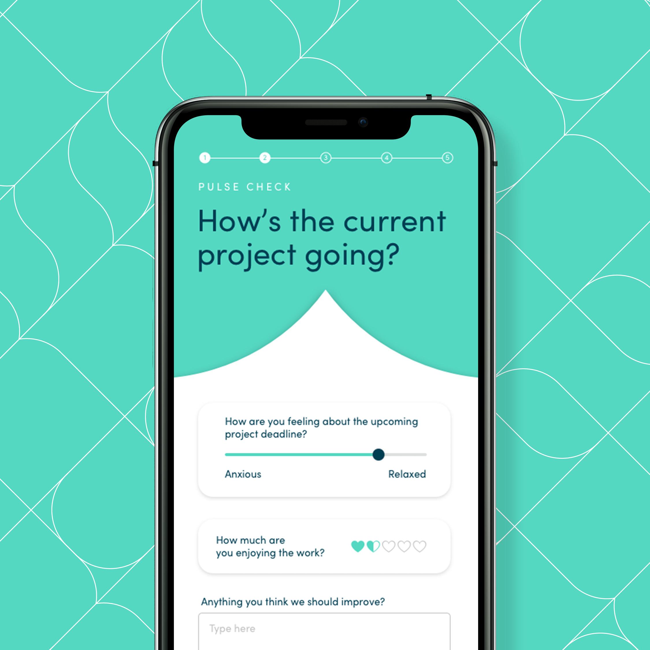 Korero mobile app design by Ben Clark Design