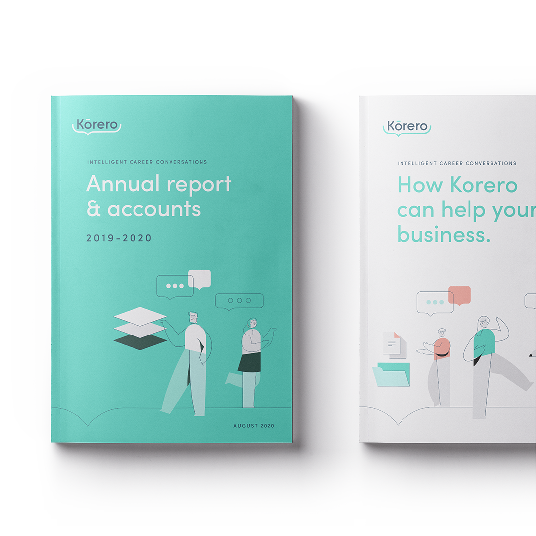 Korero report design