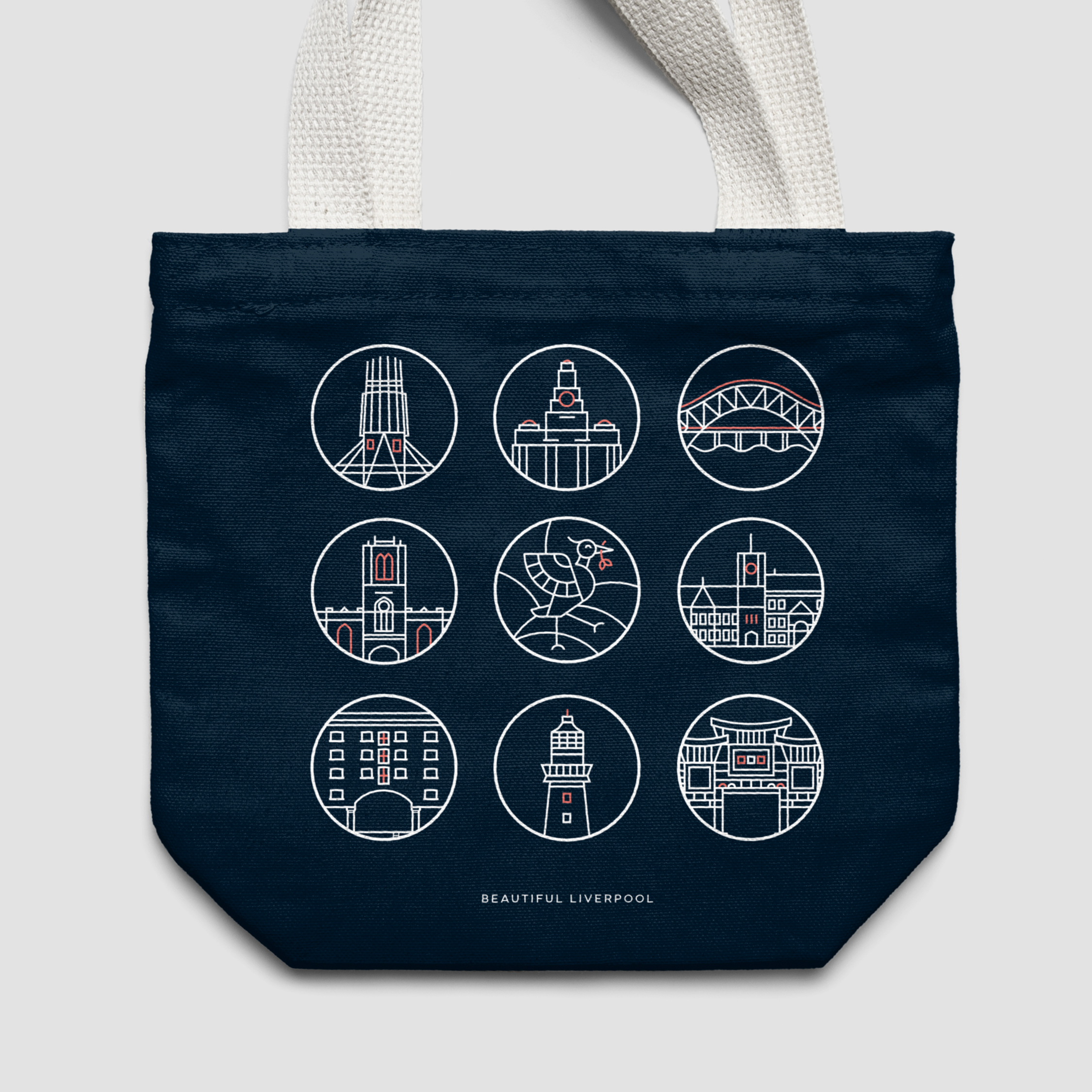 Beautiful Liverpool tote-bag