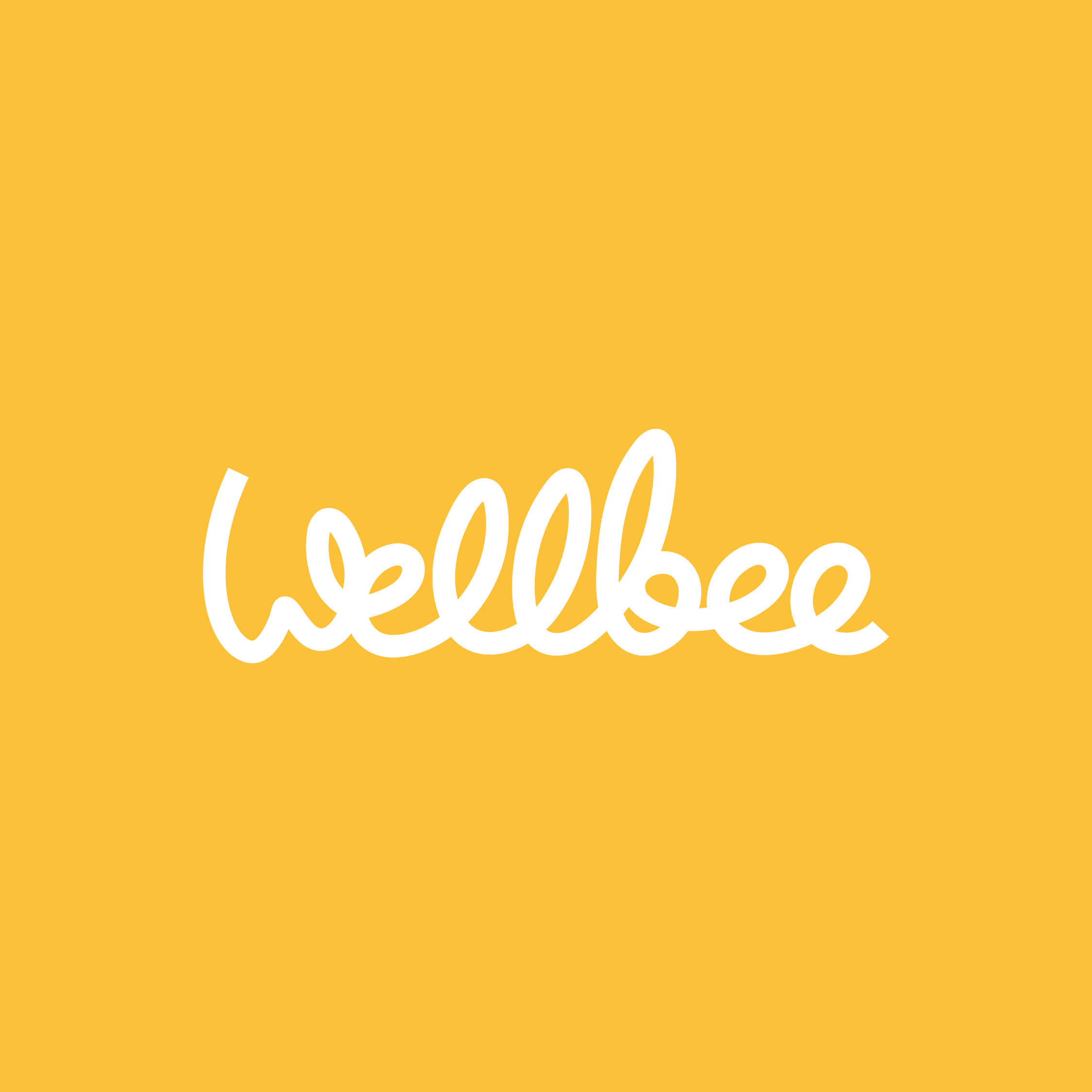 Wellbee logo by Ben Clark Design