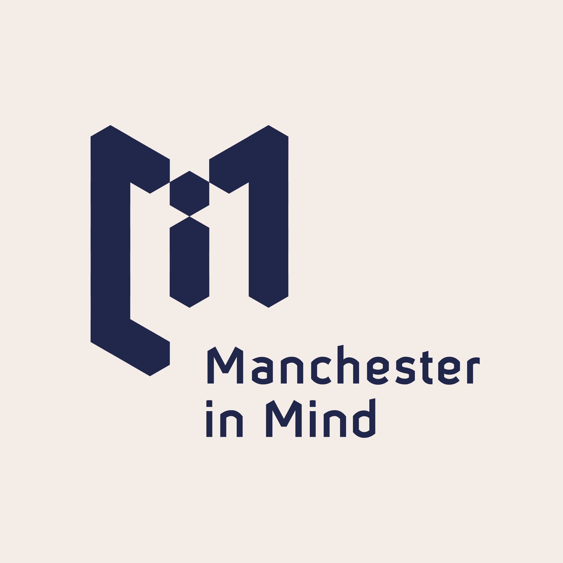 Manchester in Mind reverse logo