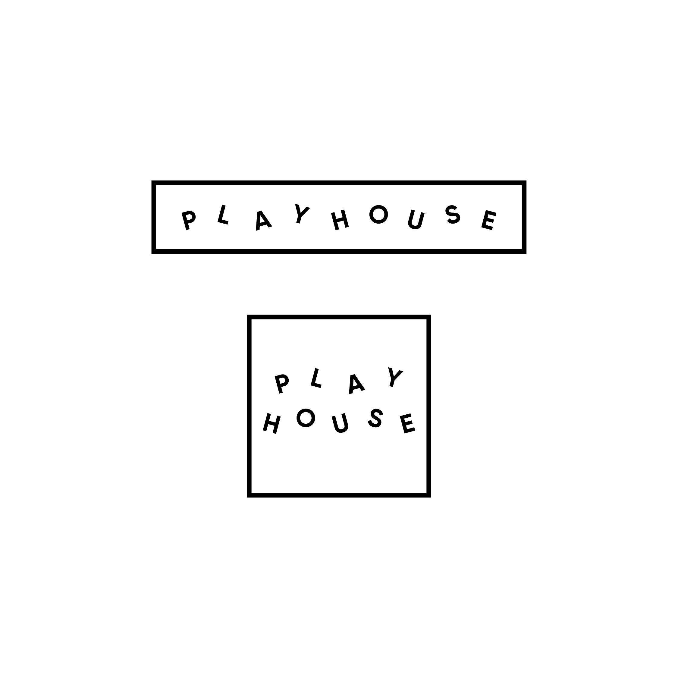 Playhouse design competition alternate logos