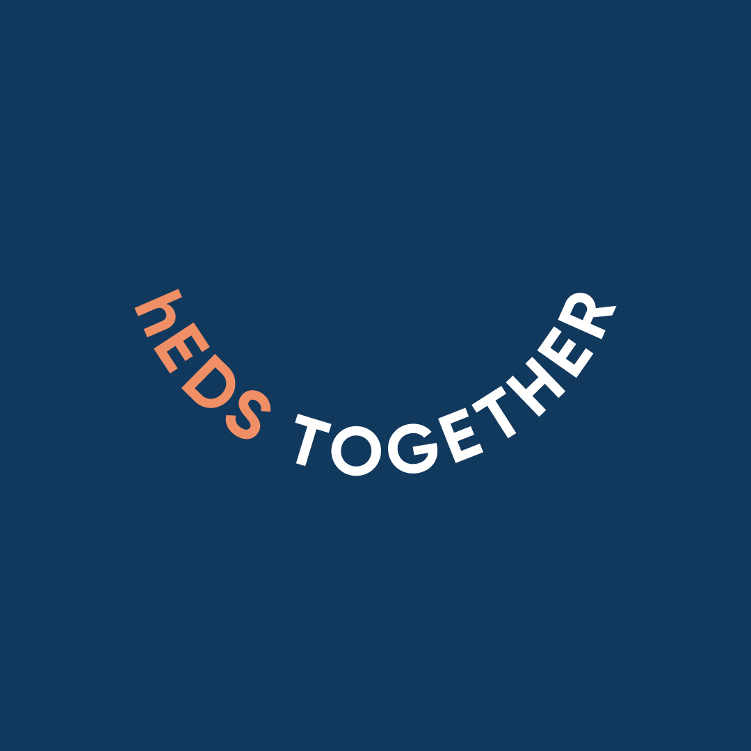hEDS Together logo by Ben Clark Design