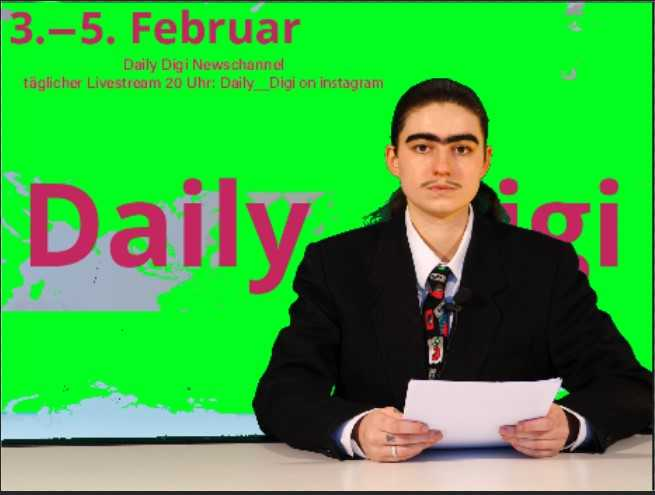 Daily Digi Newschannel mit Lexi Schnäbele live