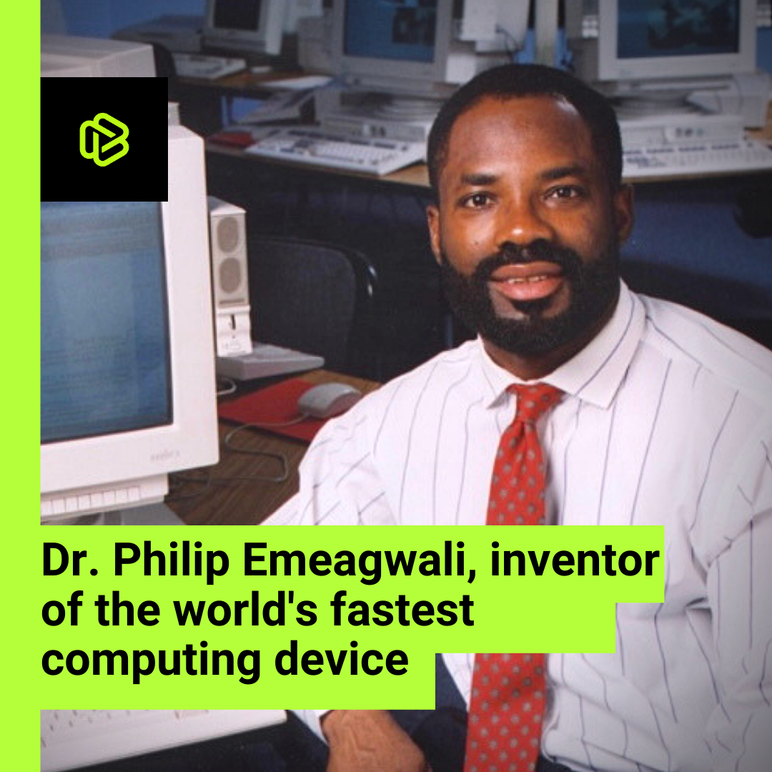 Black History Spotlight: Dr. Philip Emeagwali