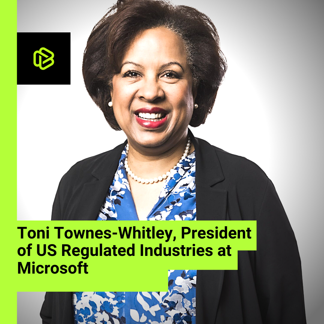 Black Excellence in Modern Tech: Toni Townes-Whitley
