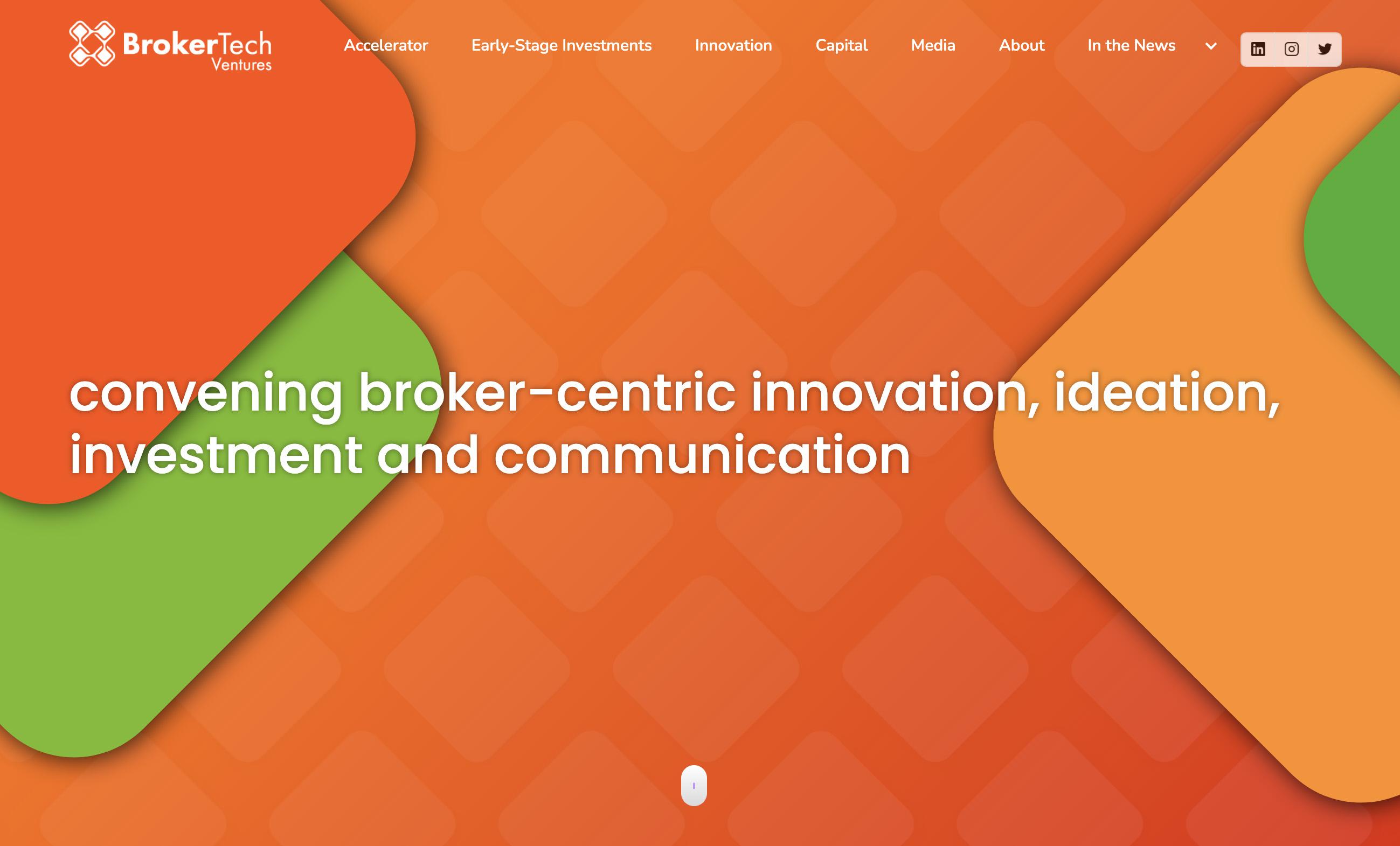 BrokerTech Ventures Web Design