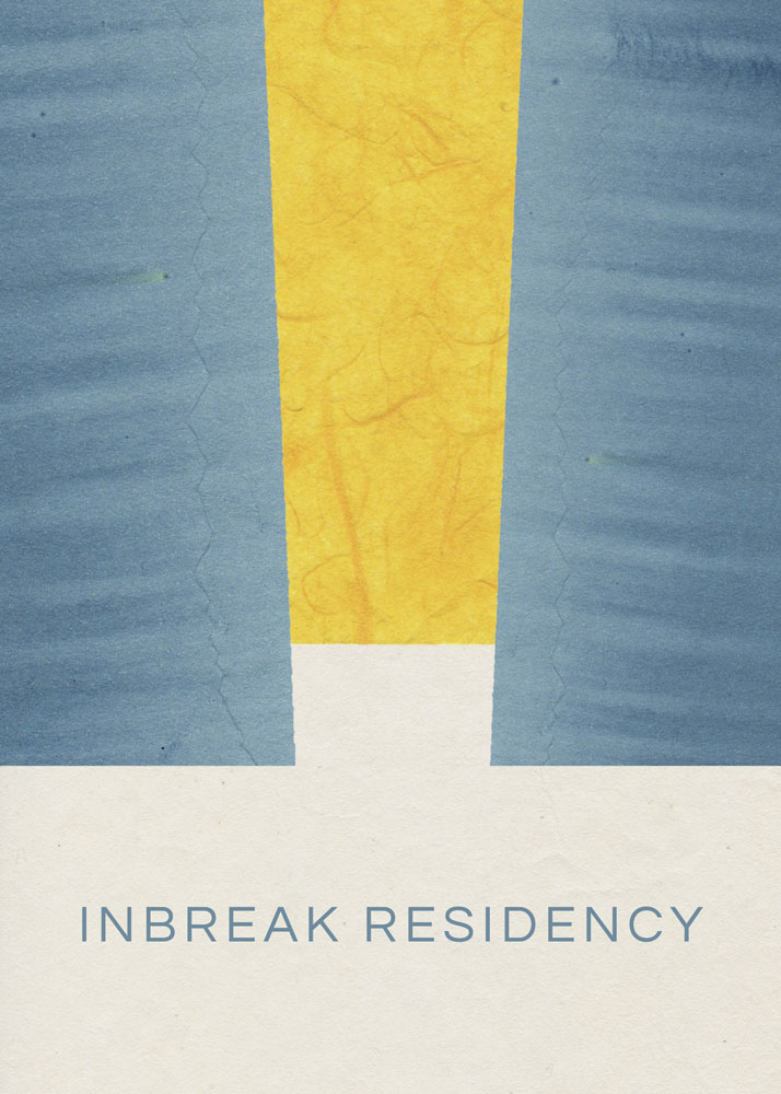 InBreak Residency Graphic: Dea Studios invites artists of any discipline, writers, and preachers to participate in the InBreak Residency, a collaborative virtual process exploring art, race, and faith.