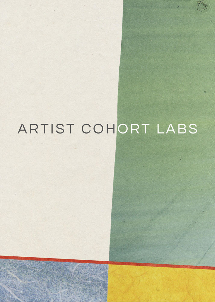 Artist Cohorts Graphic: Join a cohort and develop your social art practice.