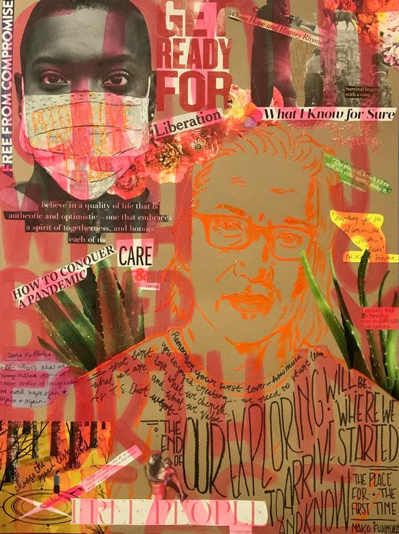 Lenten Gestures - Art - Liberating