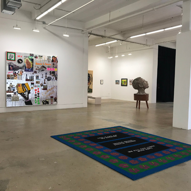 "Installation view of ""Otherwise / Revival"" at Bridge Projects"