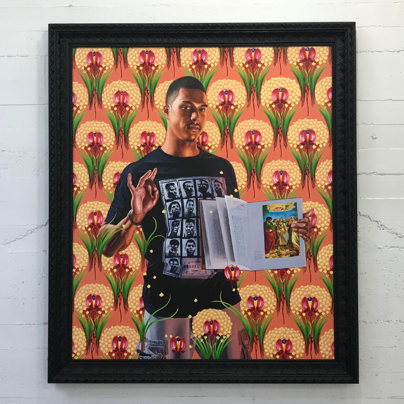 "Kehinde Wiley | ""St. Nicholas of Myra"" 
