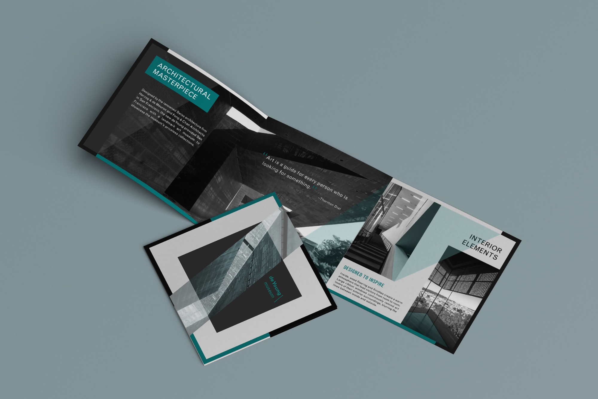 De Young Museum Architectural Brochure