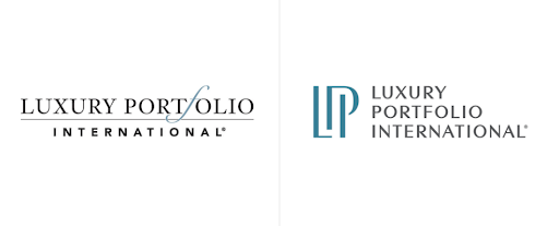 Luxury Portfolio International Before and After Logo. Source:  The Close