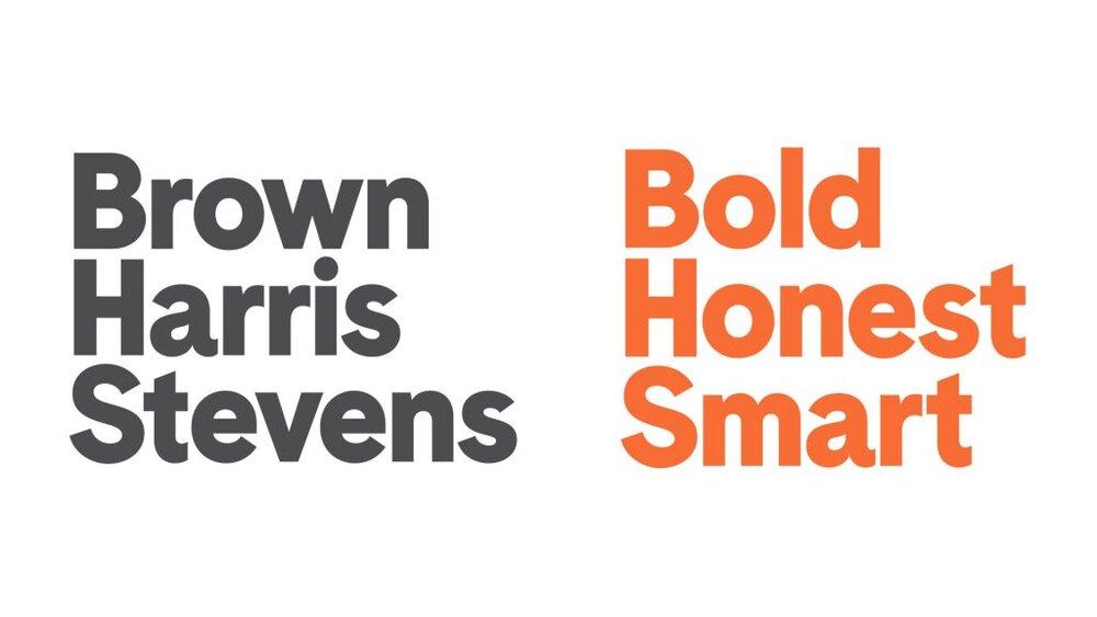 Brown Harris Stevens Brand Logo. Source:  Real Marketing